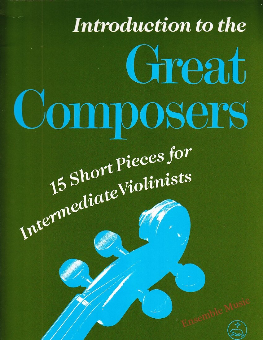 15 short pieces for intermediate violinists