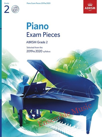 2019 piano exam pieces grade2 book with CD