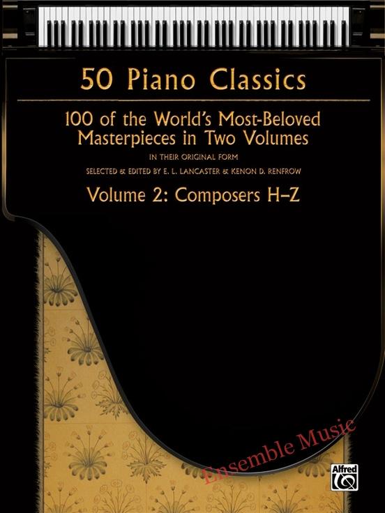 50 piano classics vol2 composers h z