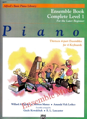 ABPL Ensemble Book Complete Level 1 for the later beginner