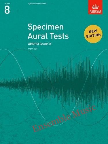 ABRSM specimen aural tests grade book only