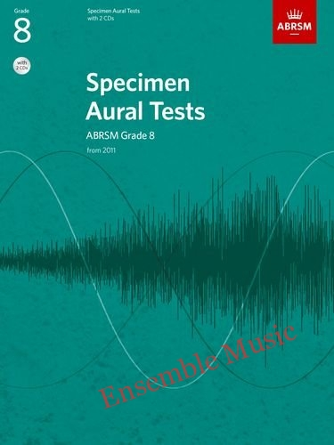 ABRSM specimen aural tests grade book with CD
