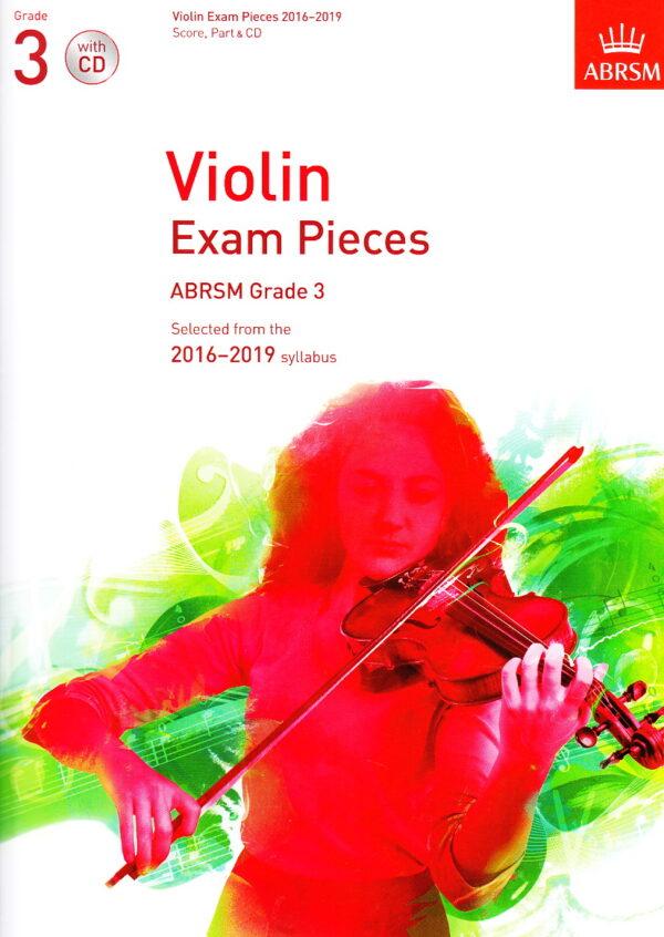 ABRSM violin grade 3 CD
