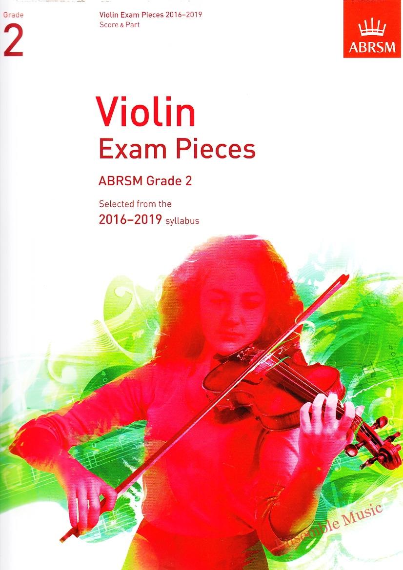 ABRSM violin grade2