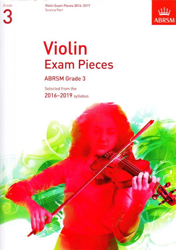 ABRSM violin grade3