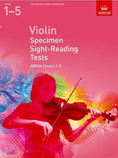 ABRSM violin specimen sight reading tests 1 to 5