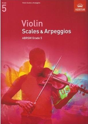 ABRSM ViolinScales5 2017