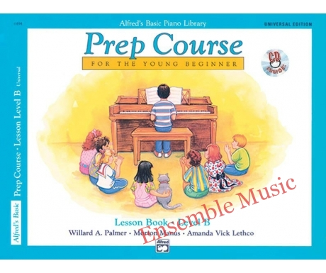 ALFREDS BASIC PREP COURSE LESSON BOOK LEVEL B WITH CD