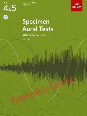 Abrsm specimen aural tests G book CD