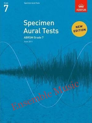 Abrsm specimen aural tests G book only