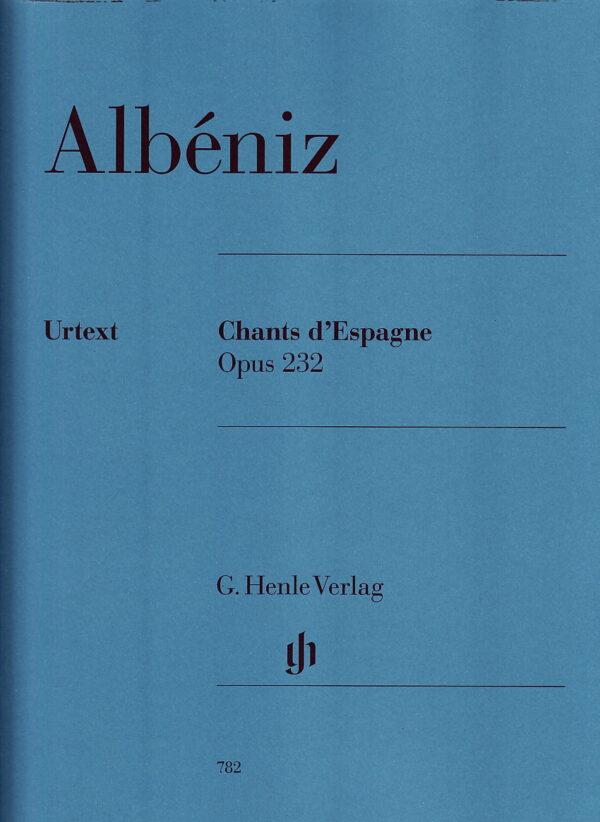 Albeniz Chants dEspagne Opus 232