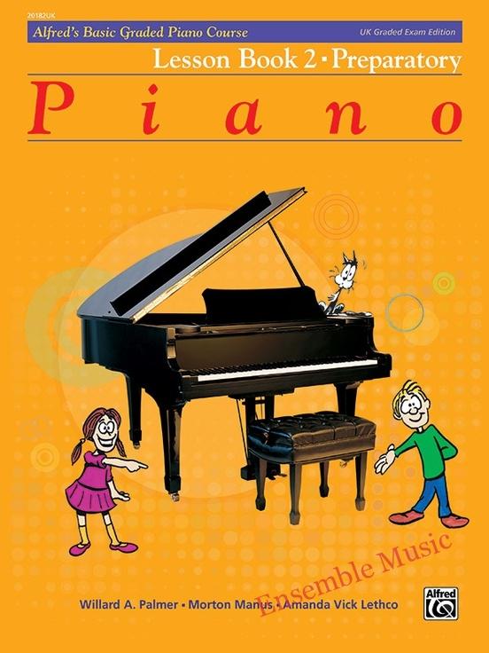 Alfred UK graded exam piano lesson 2 Preparatory