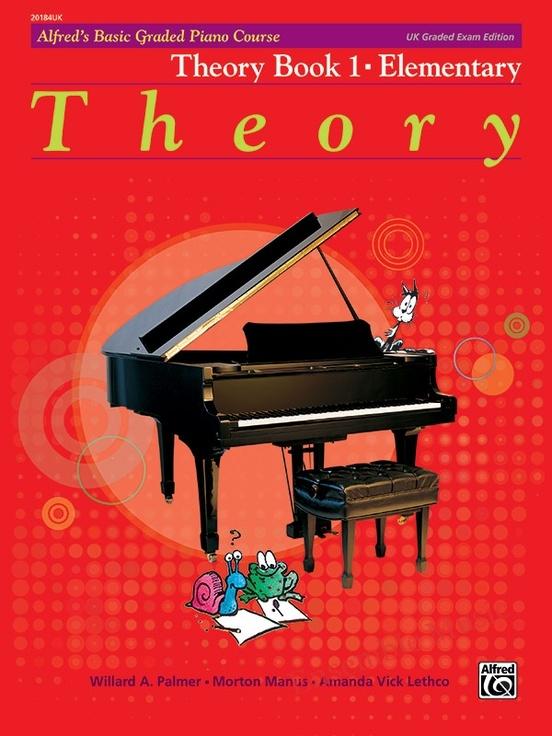 Alfred UK graded exam piano theory 1 elementary