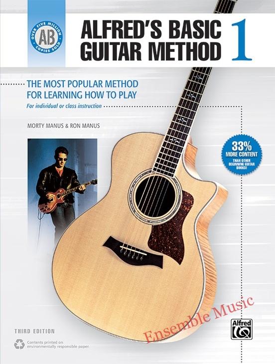 Alfred basic guitar method 1 1