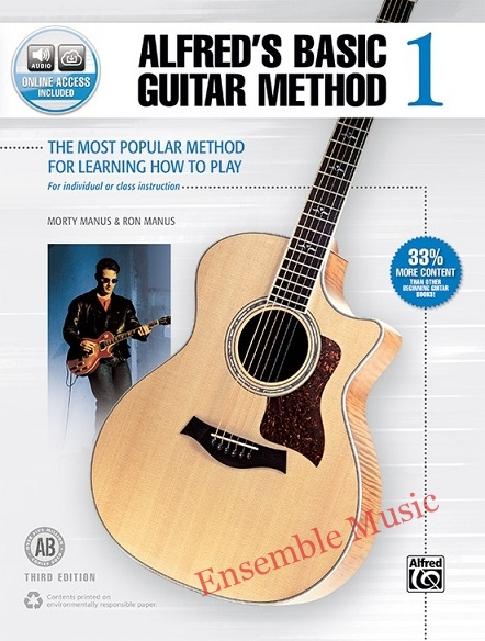 Alfred basic guitar method 1 with audio