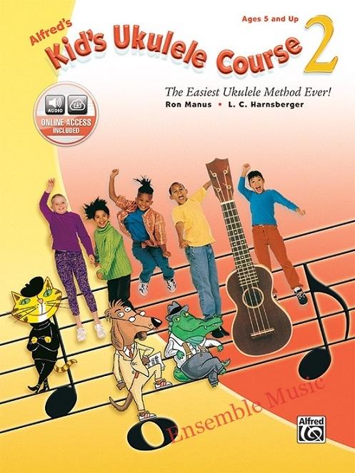Alfred kids ukulele course 2 audio