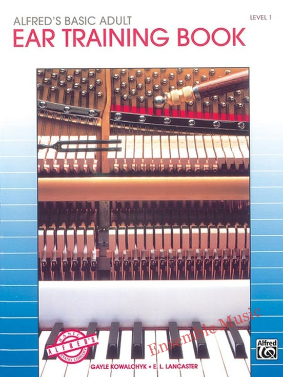 Alfreds Basic Adult Piano Course Ear Training Book 1