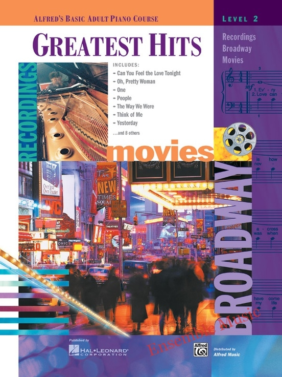 Alfreds Basic Adult Piano Course Greatest Hits Book 2