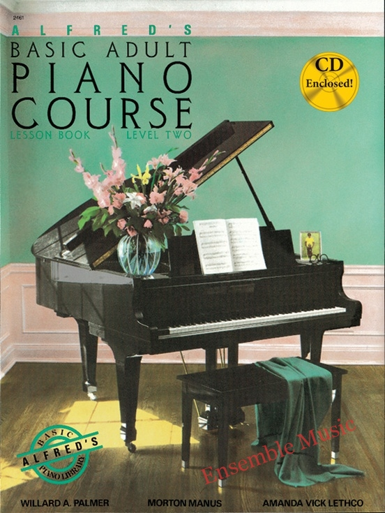 Alfreds Basic Adult Piano Course Lesson Book 2 CD