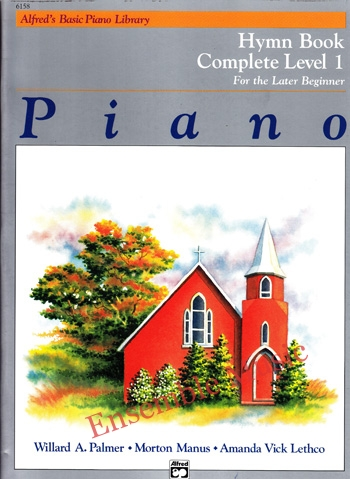 Alfreds Basic Piano Course Hymn Bk Complete 1