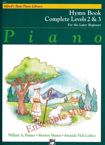Alfreds Basic Piano Course Hymn Bk Complete 2 3