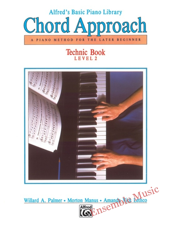 Alfreds Chord Approach Technic Book Level 2