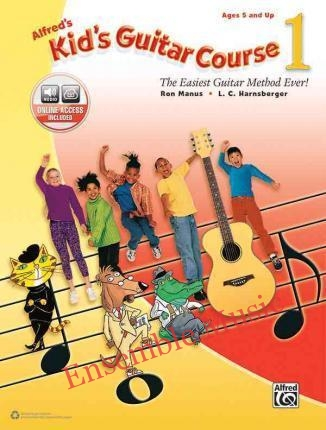 Alfreds Kids Guitar Course 1 With CD