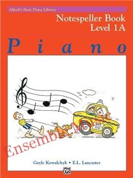 Alfreds Basic Piano Library Notespeller Book 1A