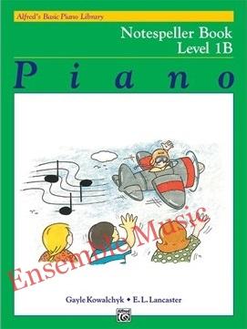 Alfreds Basic Piano Library Notespeller Book 1B