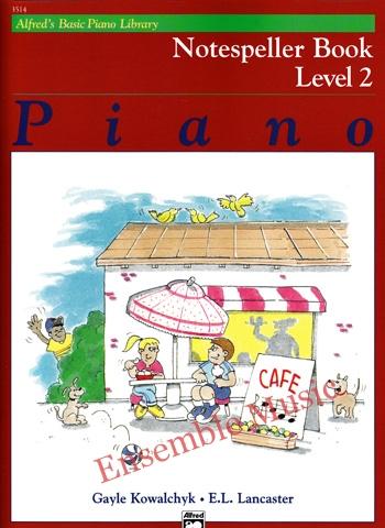 Alfreds Basic Piano Library Notespeller Book 2