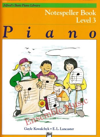 Alfreds Basic Piano Library Notespeller Book 3