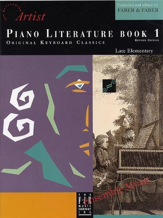 Artist Piano Literature Bk 1