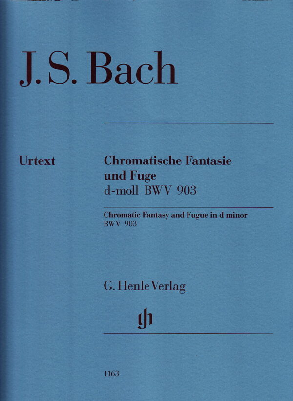 Bach Chromatic Fantasy and Fugue in D Minor BWV 903