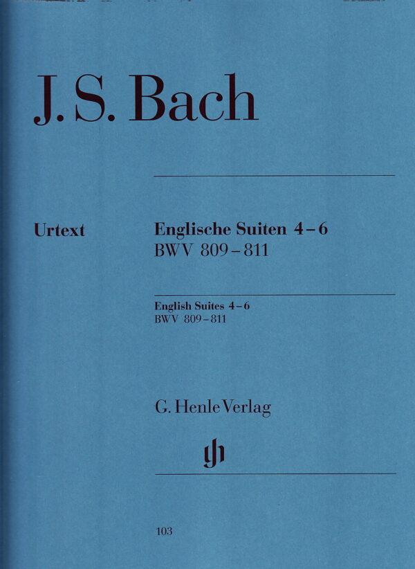 Bach English Suites 4 6 BWV 809 811