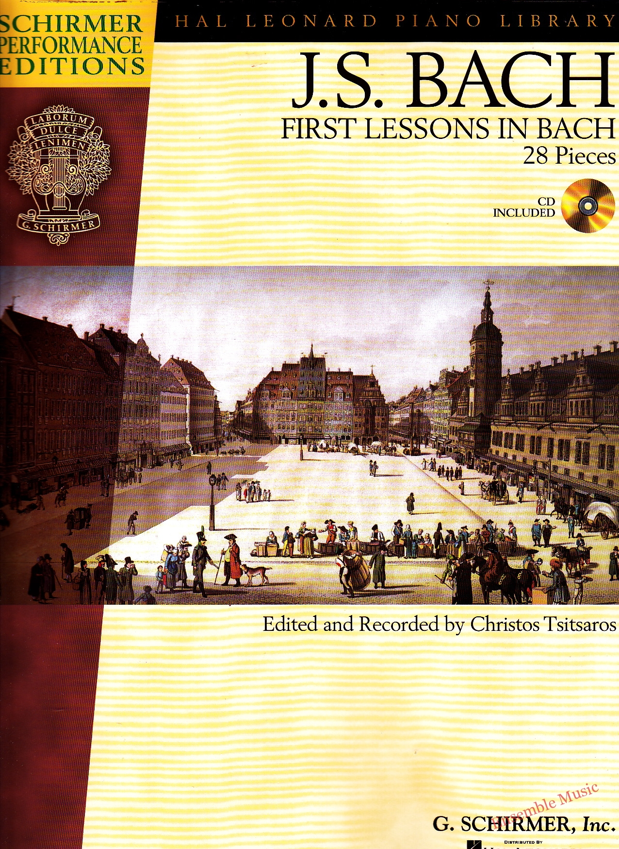 Bach First Lessons In Bach 28 Pieces