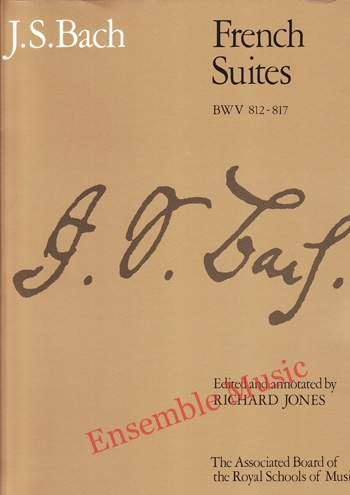 Bach French Suites BWV 812 817