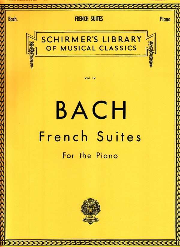 Bach French Suites for the piano