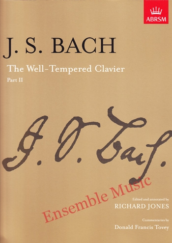 Bach The Well Tempered Clavier Part 2