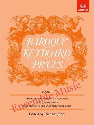 Baroque Keyboard Pieces Book I easy