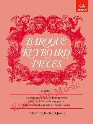 Baroque Keyboard Pieces Book II moderately easy