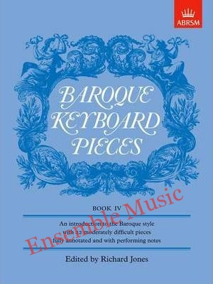Baroque Keyboard Pieces Book IV moderately difficult