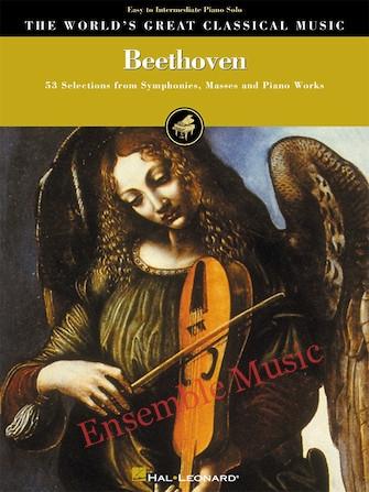 Beethoven Easy to Intermediate Piano Solo