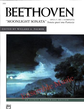 Beethoven Moonlight Sonata Opus 27 No. 2 Complete