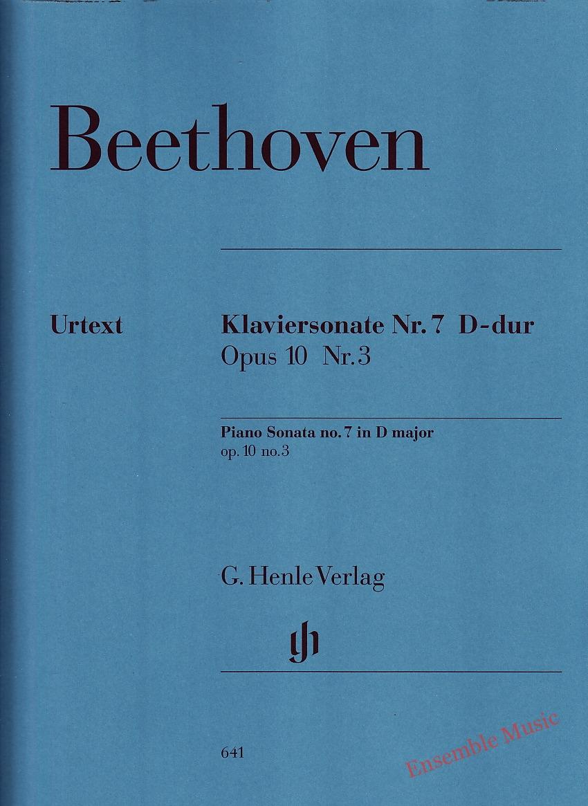 Beethoven Piano Sonata No 7 in D Major Op 10 No 3