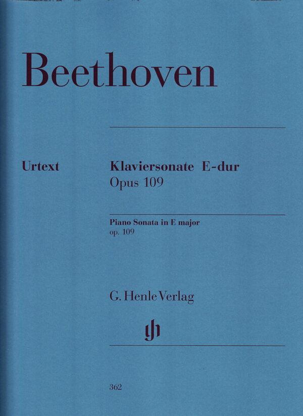 Beethoven Piano Sonata in E Major Op. 109