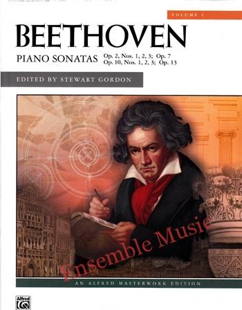 Beethoven Piano Sonatas Vol 1 Op. 2 Op. 7 Op. 10 Op. 13