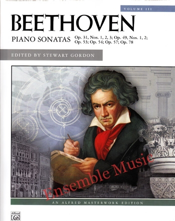 Beethoven Piano Sonatas Vol 3 Op. 31 Op. 49 Op. 53 Op. 54 Op. 57 Op. 78