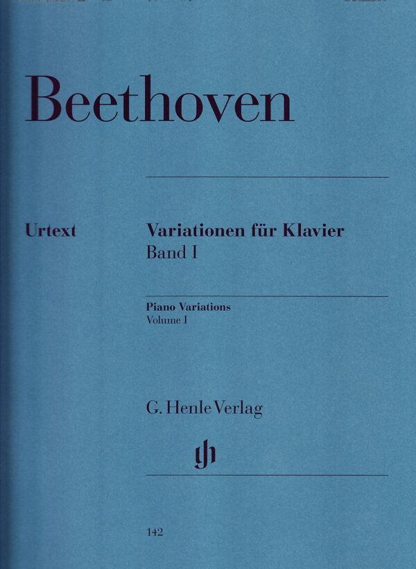 Beethoven Piano Variations Vol 1