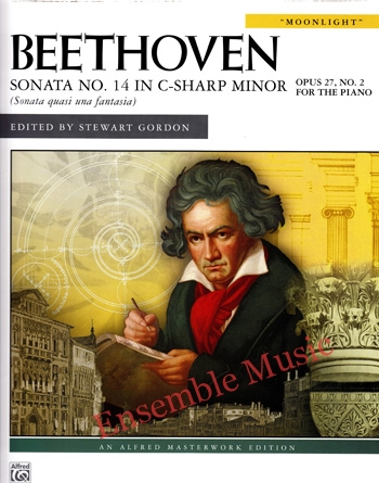 Beethoven Sonata No. 14 in C Sharp Minor Opus 27 No 2 Moonlight