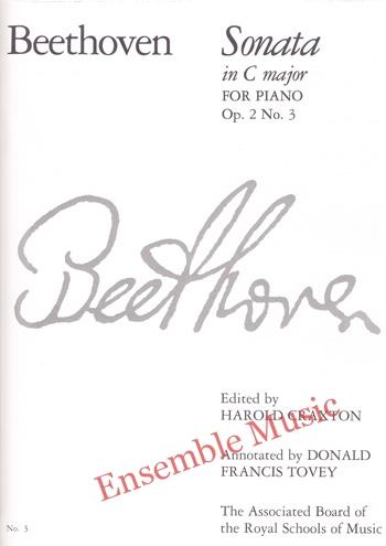 Beethoven Sonata in C major for Piano Op 2 No.3